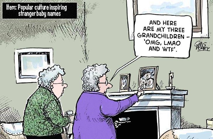 Senior cartoons
