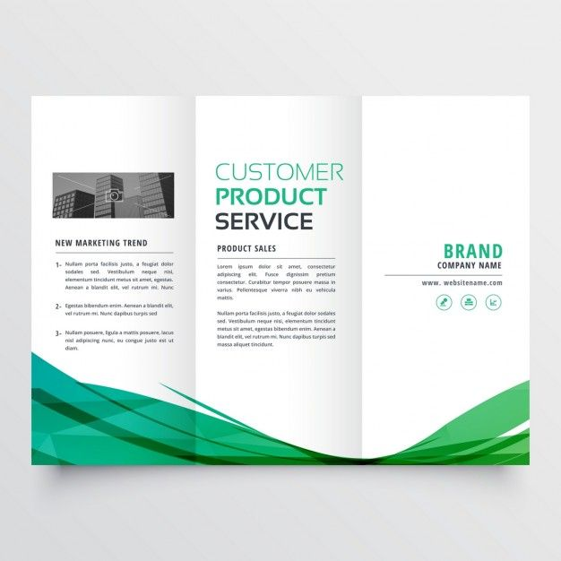 tri fold brochure printing with free shipping premium quality
