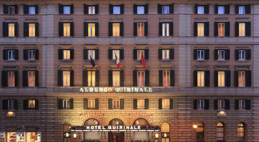 Hotel Quirinale Rome Italy Booking Com Met Afbeeldingen