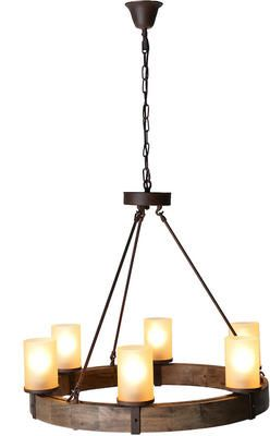 Lancelot Round Wooden And Metal Chandelier By Alexander Pearl Lovely Meval Style Feature Light Simple But Eye Catching Reflecting The