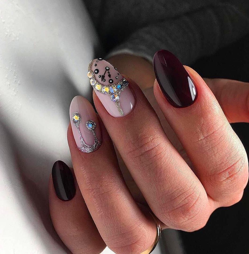 60+ Acrylic Marble Nails Colors Designs 2019 Colorful