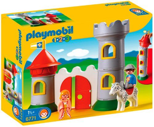 Playmobil 1.2.3 My First Knight\'s Castle PLAYMOBIL® http://www ...
