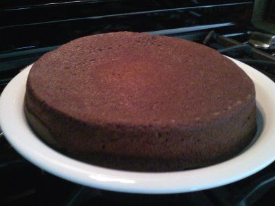 Quinoa Chocolate Cake (Gluten Free) - just add some frosting and you've got a delicious, nutritious treat!