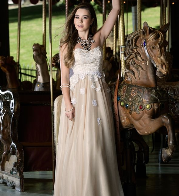 Ivory Prom Outfits