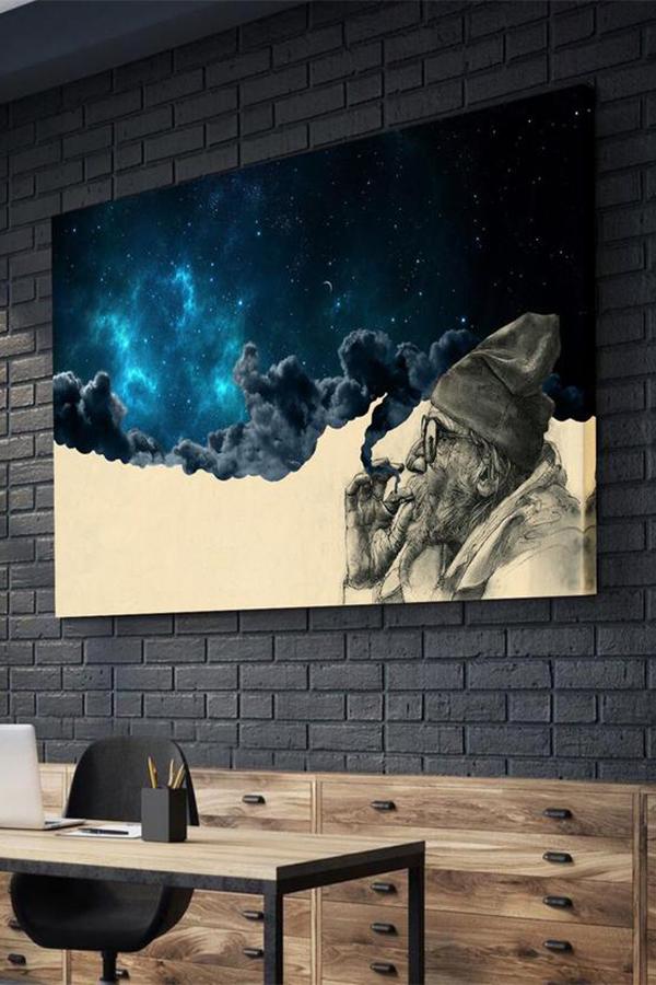 Smoke And Wonder Canvas Art Decor Canvas Gallery Wall Wall Canvas