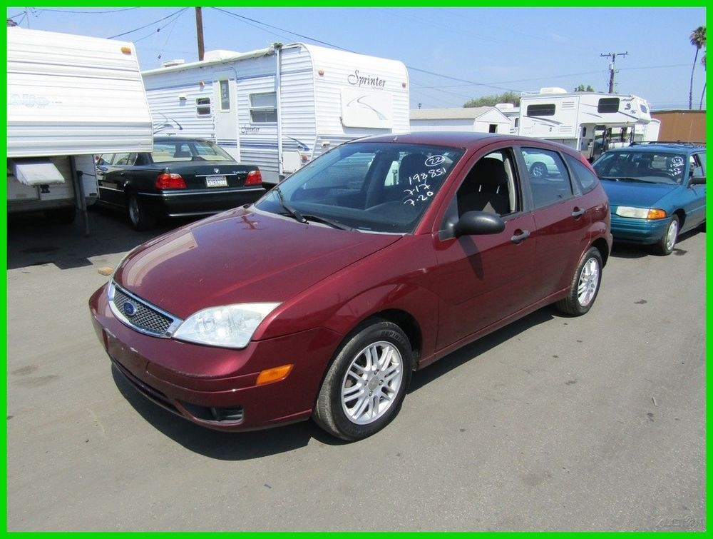 Ford Focus Zx5 2006 Ford Focus Zx5 Used 2l I4 16v Automatic