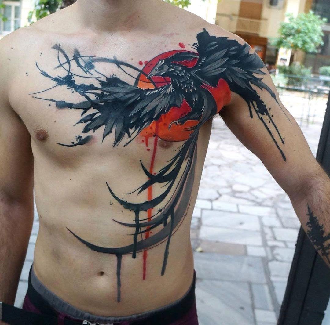 Phoenix tattoo for men - 114 Tantalising Tattoo Designs For Men