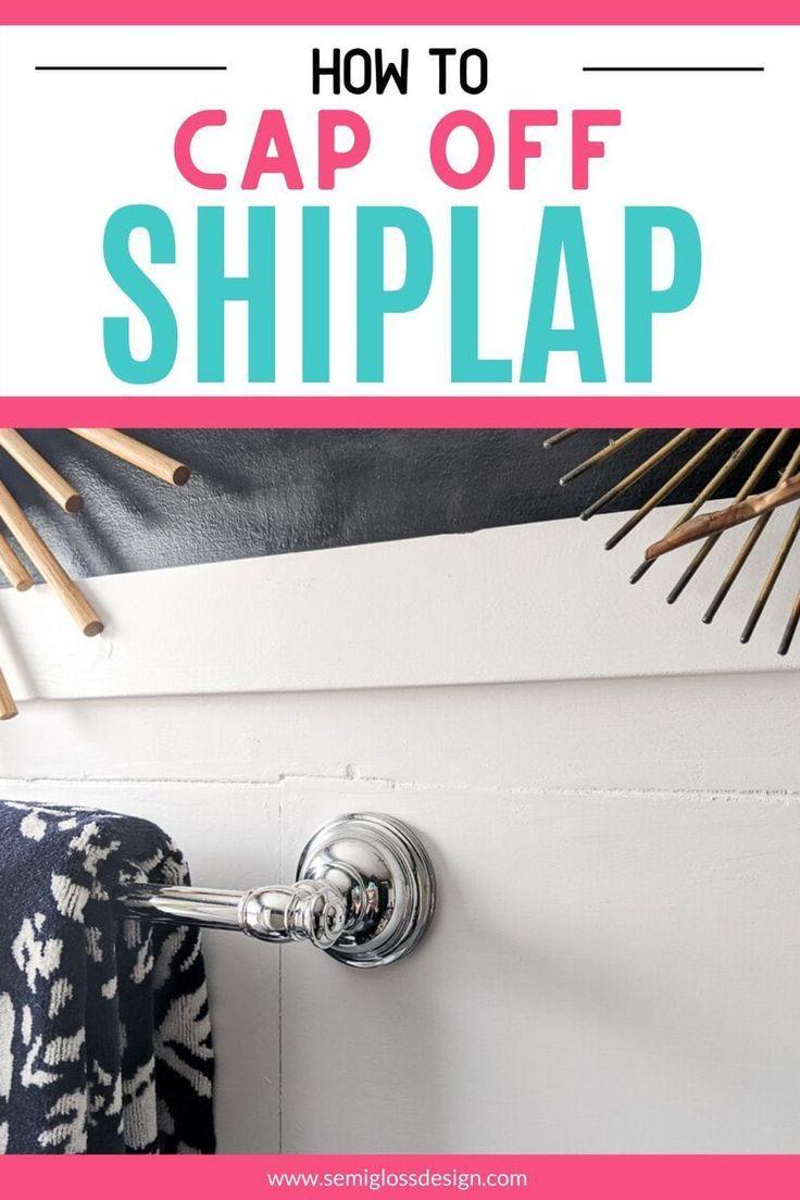 All About Shiplap Trim Corners, Edges and Baseboards in