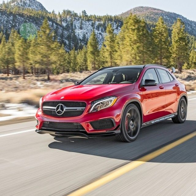 "Mercedes-Benz HESS - ""The small, racy AMG crossover puts the sport back..."