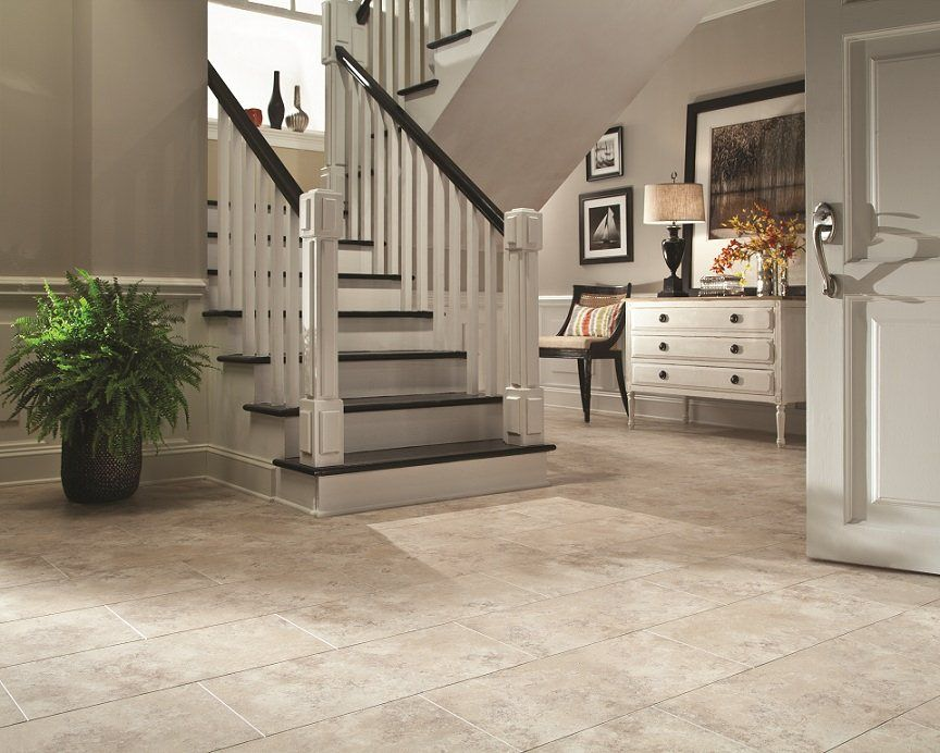 Style Selections 12 In X 24 In Bermuda Sand Stone Finish