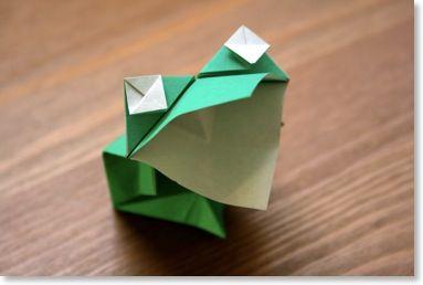 origami facile senbazuru