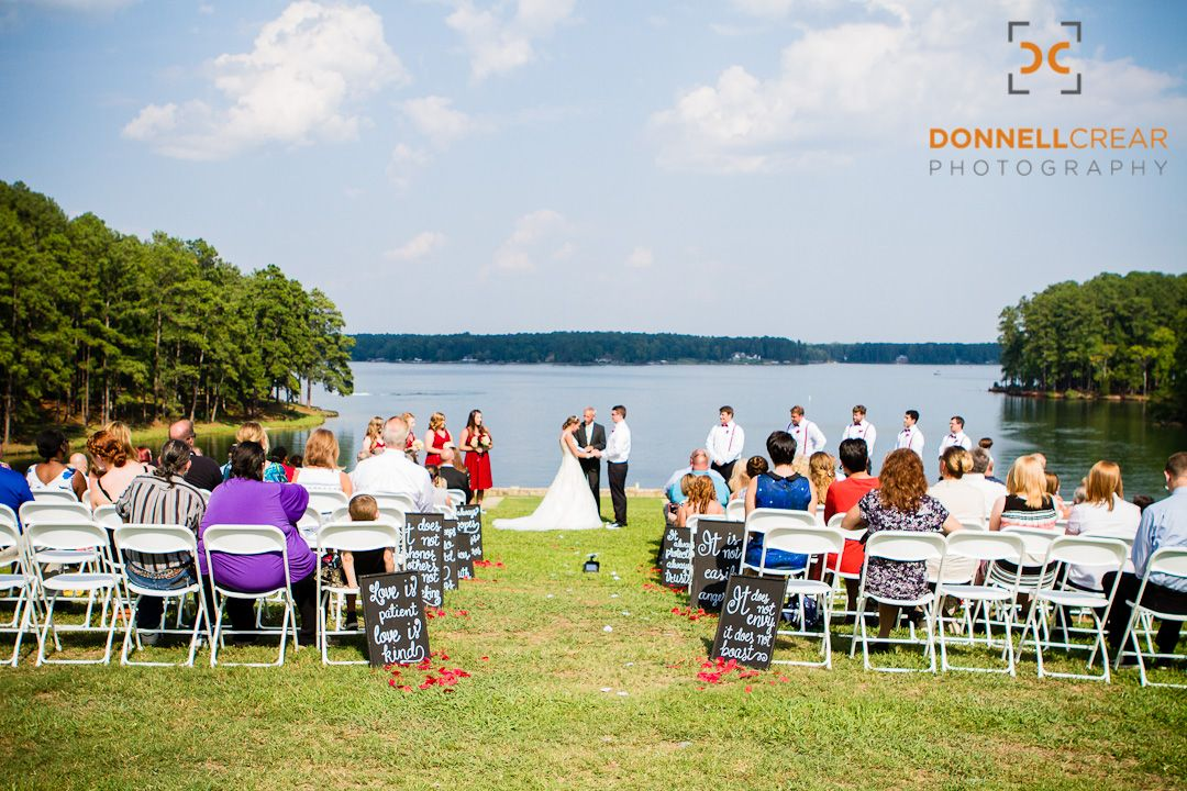 Wedding Ceremony at The Drummond Center in Greenwood, South Carolina
