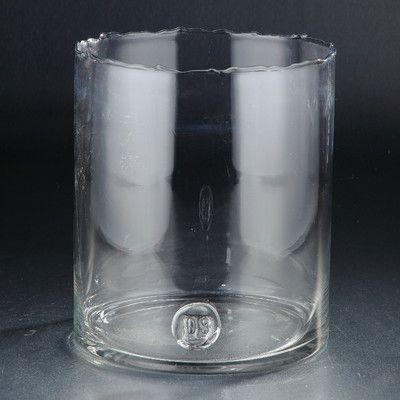 """Diamond Star Glass Vase Size: 11"""" H x 10"""" W x 10"""" D"""