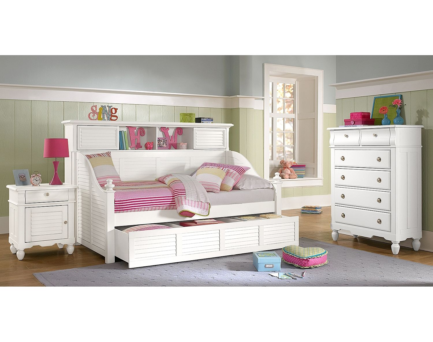 The Seaside White Ii Collection Value City Furniture White