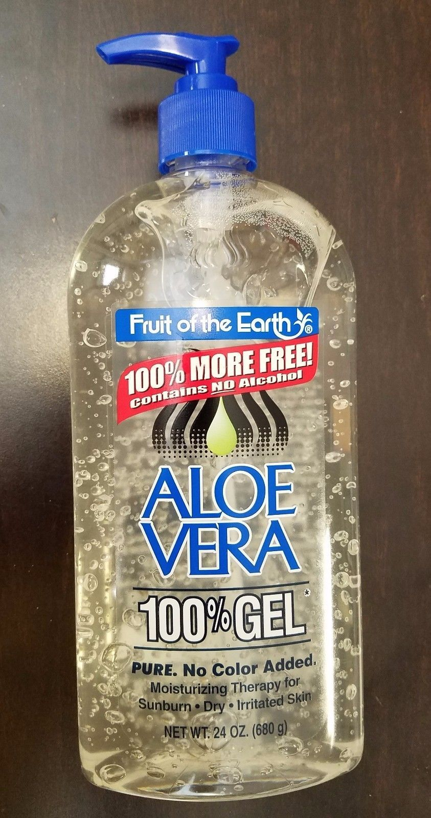 32 99 Fruit Of The Earth Aloe Vera 100 Gel 24 12 6 4 2 Oz Fruit Earth Aloe Vera Healthy Acne Makeuparti Aloe Vera Pure Aloe Vera Gel Aloe