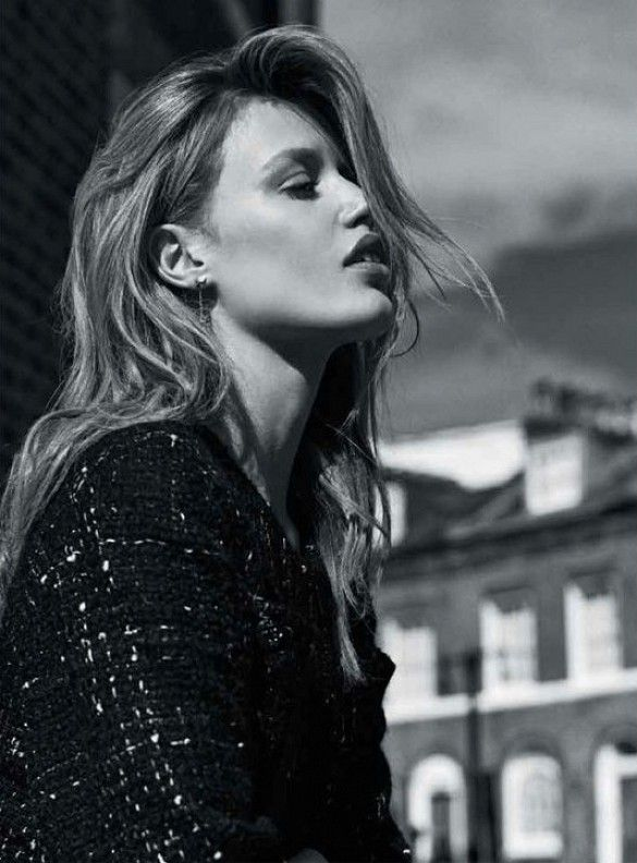 Georgia May Jagger For Miss Vogue Australia via @WhoWhatWear