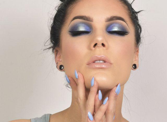 Photo of I DAG LOOK | BLUE HALO (Linda's Makeup Blog)