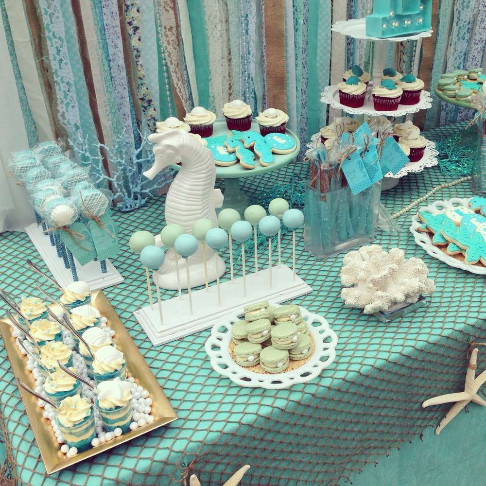 Under The Sea Birthday Party Ideas With Images Sea Birthday