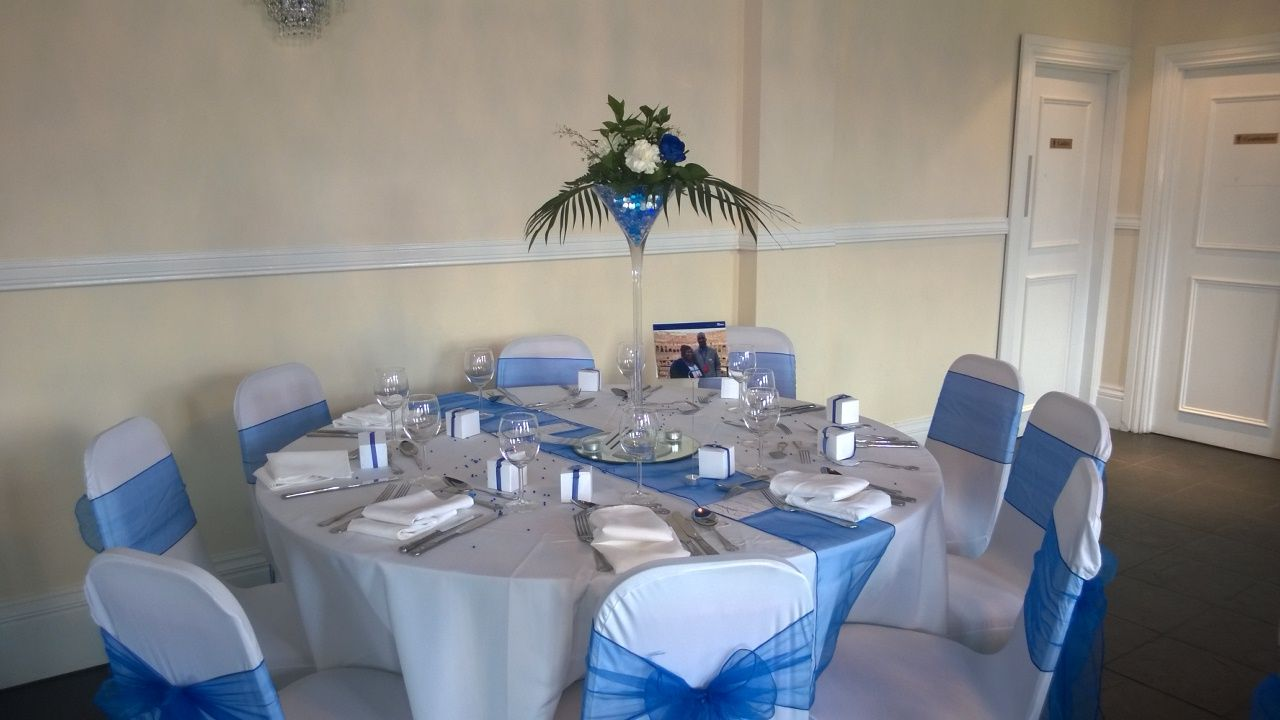 Jda hire wedding decorations royal blue theme wedding at the blake spandex chair cover for hire in london kent essex surrey providing an elegant and light feel to your wedding venue decoration chair covers allow you to junglespirit Gallery