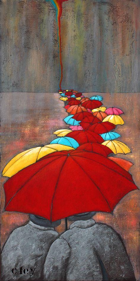 Les guetteurs d'arc en ciel by Pascale Cfey