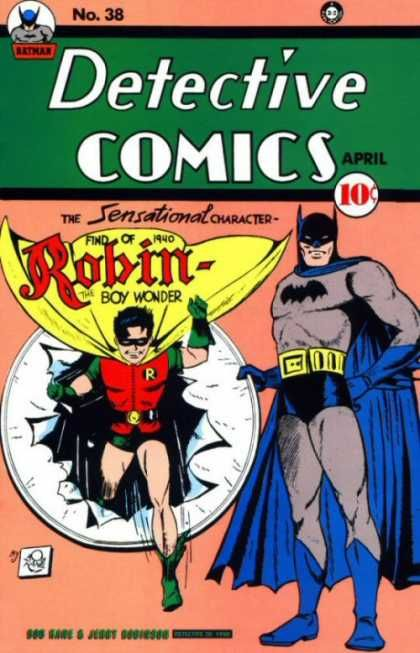 First Appearance By Robin The Boy Wonder Batman Comic Books