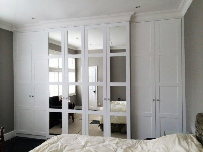 Kleiderschrank mit Spiegel 49 Ideen für Ihre Einrichtung