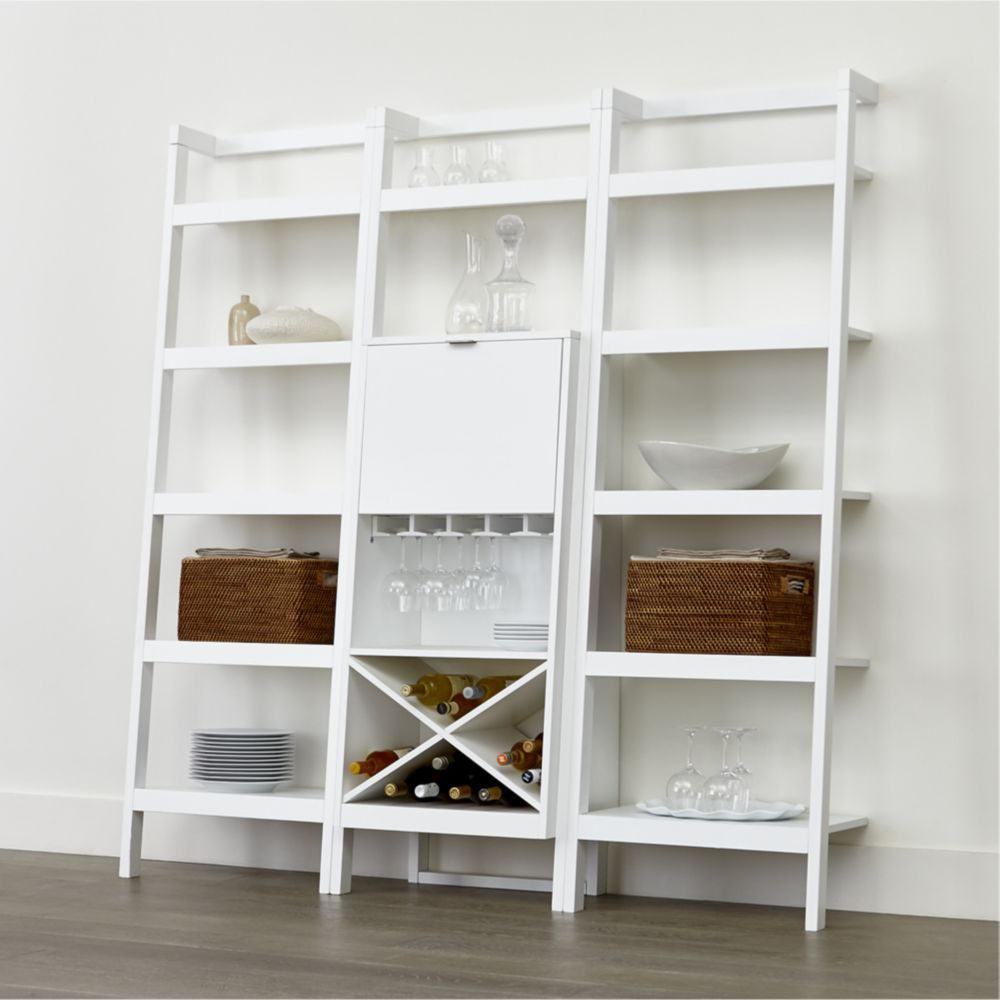 Furniture Sawyer White Modular Storage Collection
