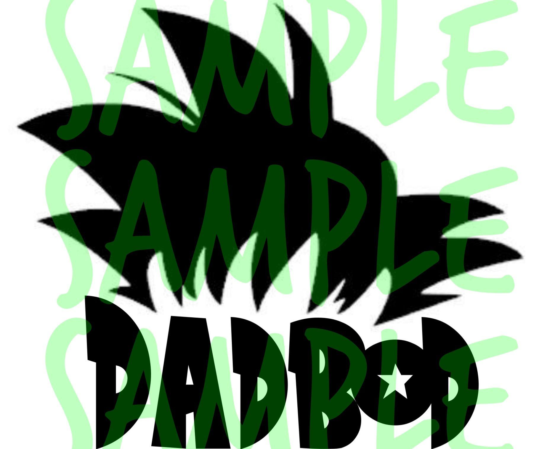 Goku Hair Dadbod Png Svg Dxf Eps Instant Digital Etsy Goku Hair Tumbler Decal Dad Bod