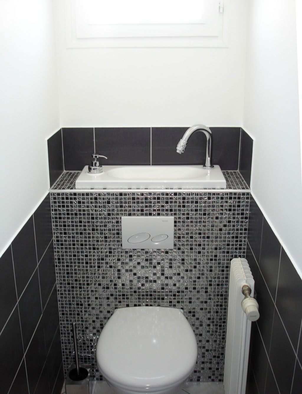 Wc Suspendu Geberit Avec Lave Main Wc Lave Main Deco Bathr