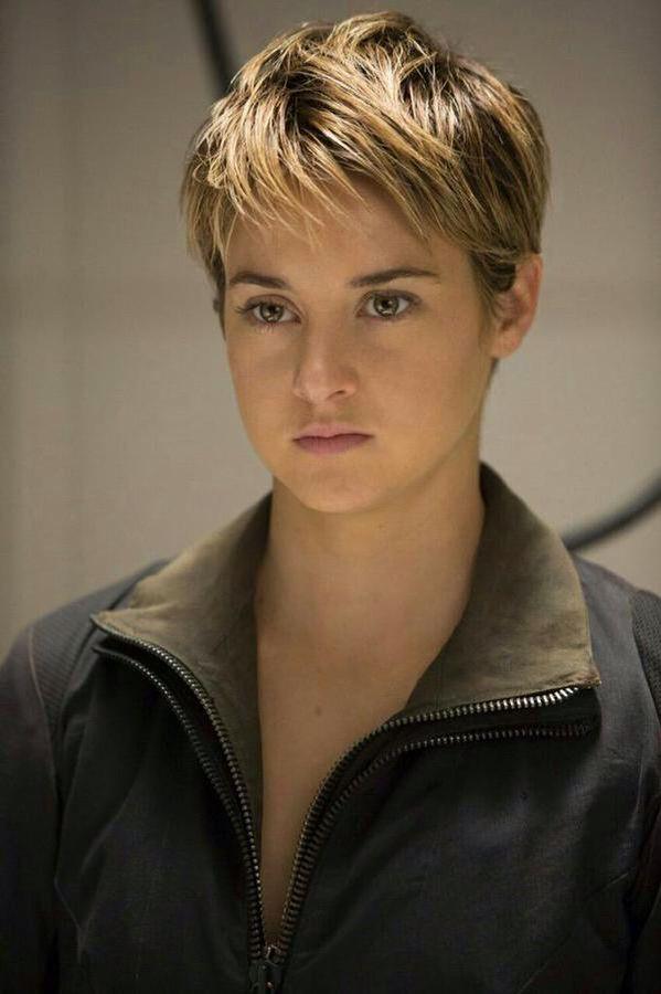 shailene woodley in the movie insurgent gorgeous �� hair