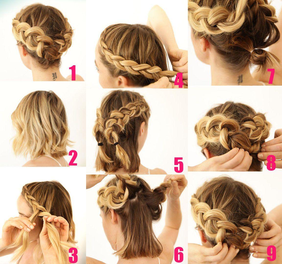 25 Peinados Para Cabello Corto Paso A Paso Bonitos Faciles Y Rapidos De Hacer Peinados Faciles Pelo Corto Peinados Para Melena Peinados Pelo Corto