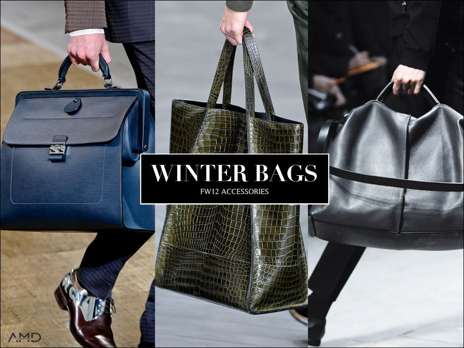 AMDMODE - If she can wear it, you can wear it! Winter bags are an essential element of your stylish look this season.