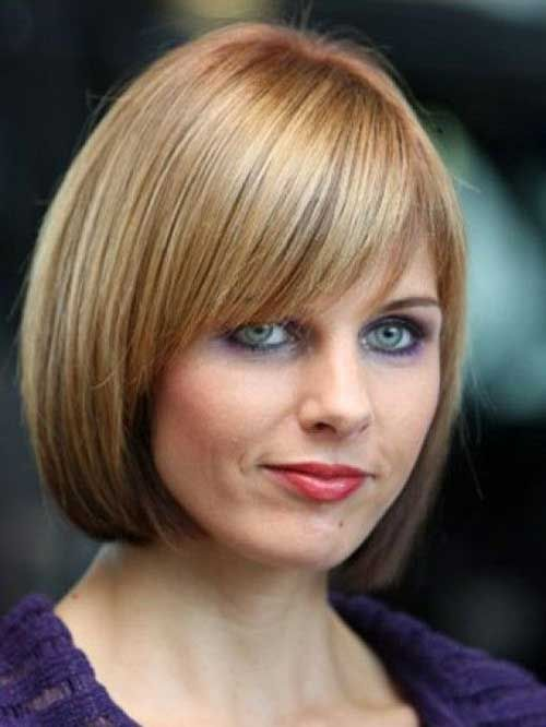 Short Straight Hairstyles Stunning Short Straight Hairstyles With Bangs  Straight Hairstyles Bangs
