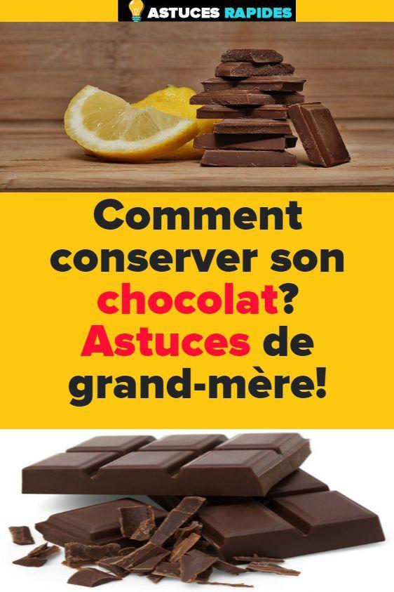 Comment conserver son chocolat? Astuces de grand-mère