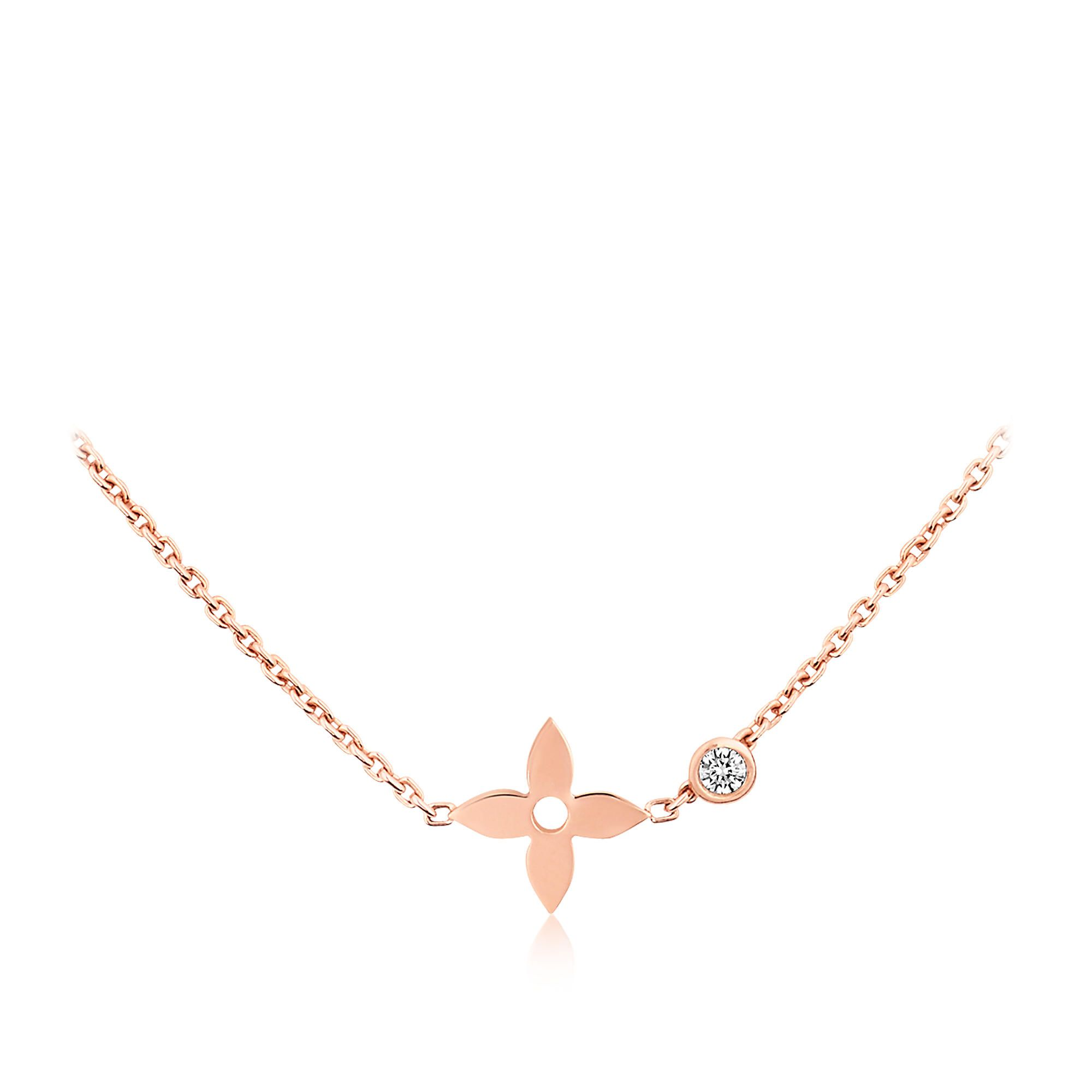 Image from http://us.louisvuitton.com/images/is/image/lv/1/PP_VP_L/louis-vuitton-monogram-idylle-pendant-pink-gold-and-diamond-fine-jewelry--Q93281_PM2_Front%20view.jpg.