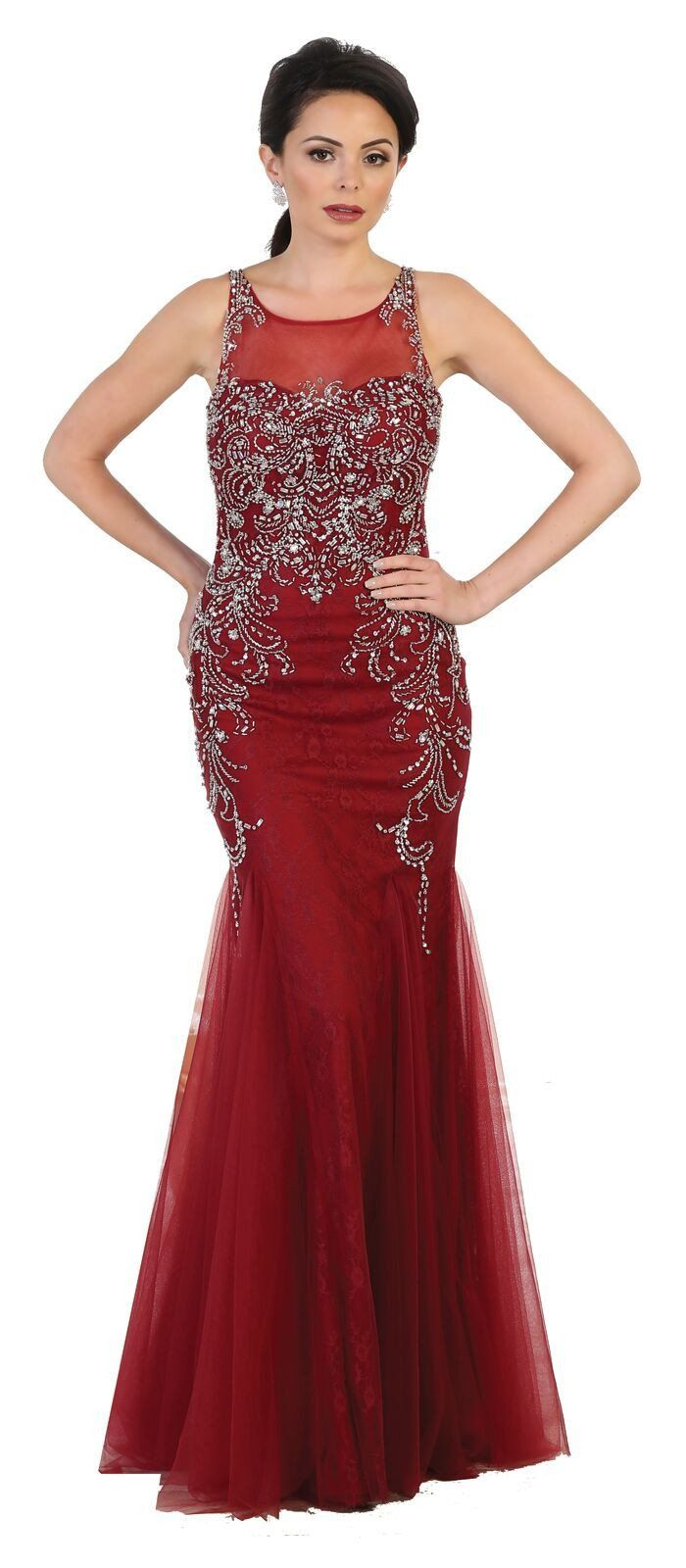 Long prom dress homecoming evening party gown pinterest tulle