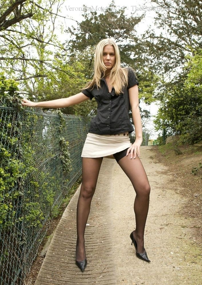 Skirts Pantyhose Pics Or
