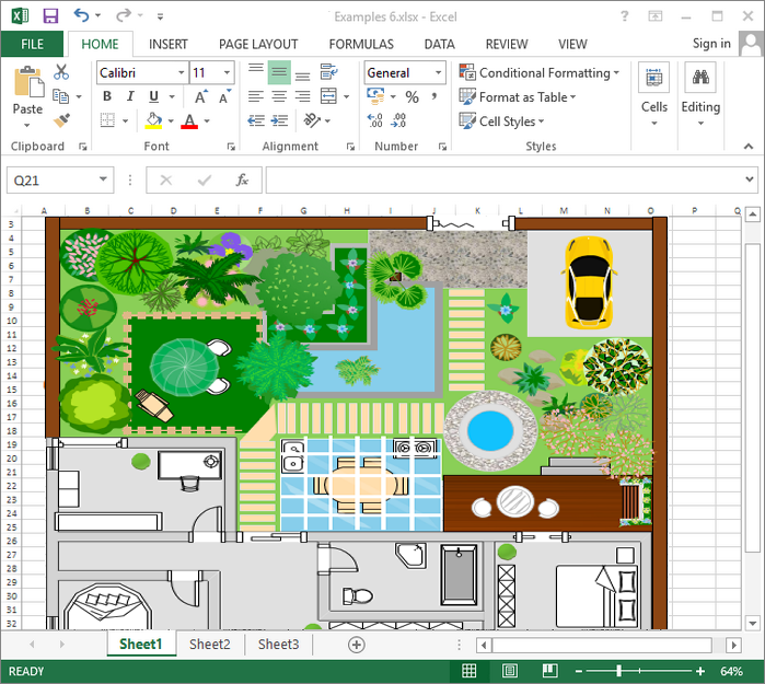 Garden Design Excel | Garden design, Garden design plans ...