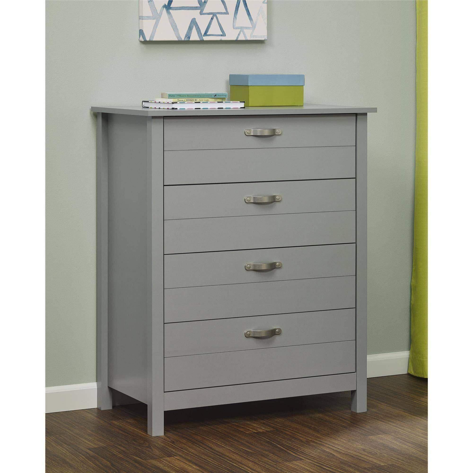 Mainstays Kyle 4 Drawer Dresser Multiple Colors Walmart Com 4 Drawer Dresser Furniture Deals Kids Dressers