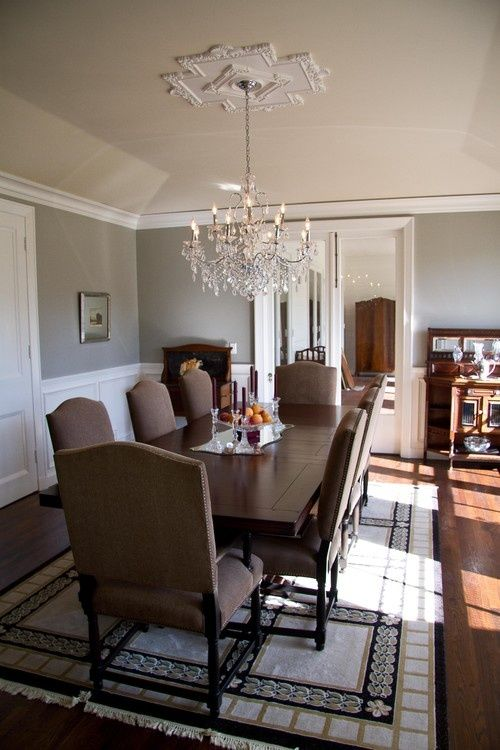 my top 10 benjamin moore grays dining rooms benjamin. Black Bedroom Furniture Sets. Home Design Ideas