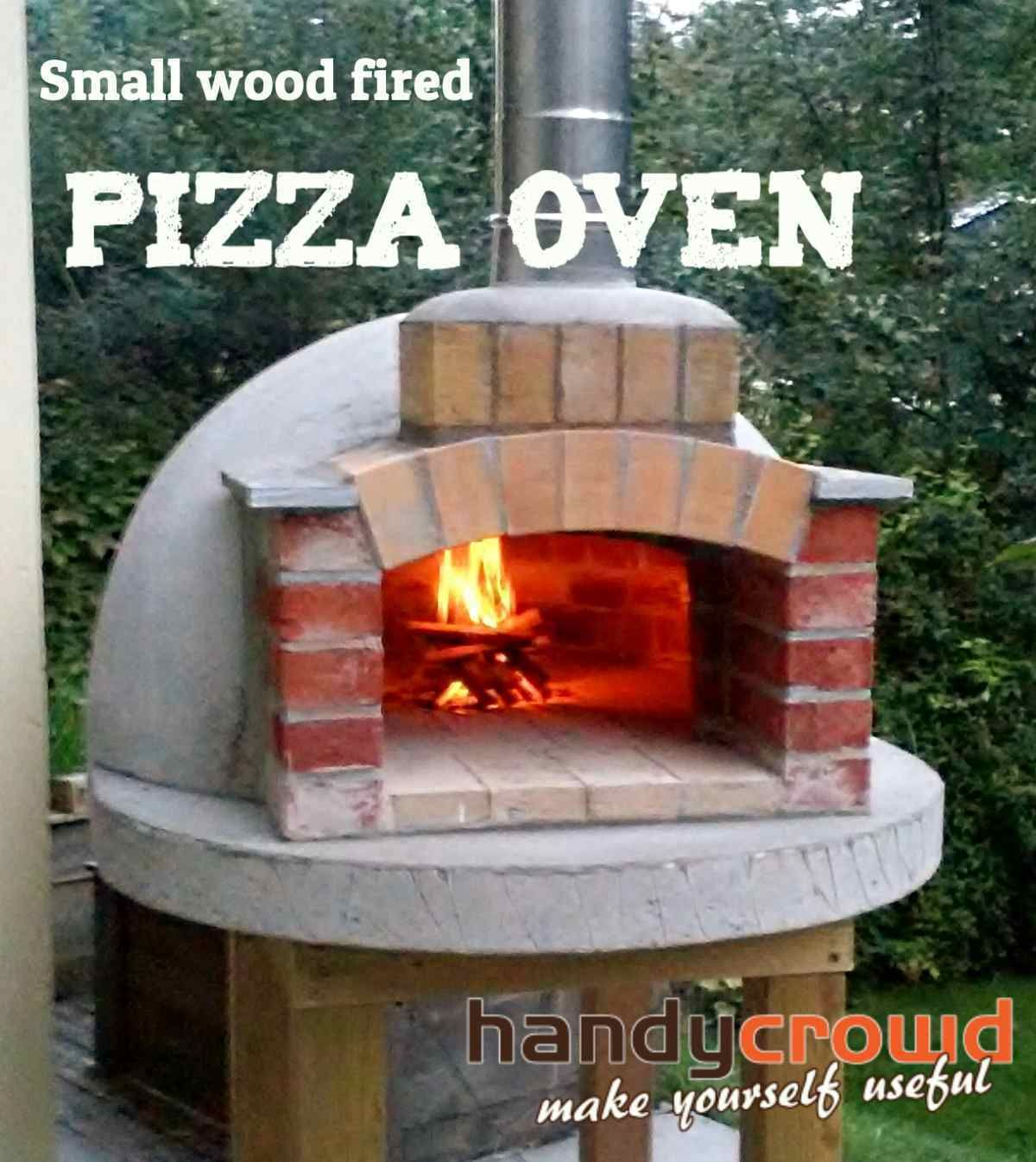Small wood fired pizza oven pizza ovens pinterest wood fired