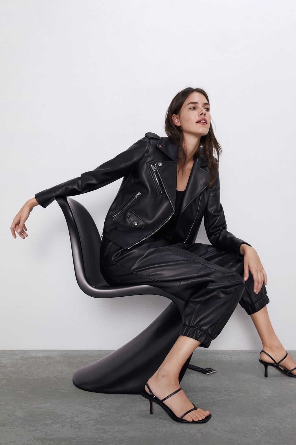 Leather biker jacket (With images) Jackets for women