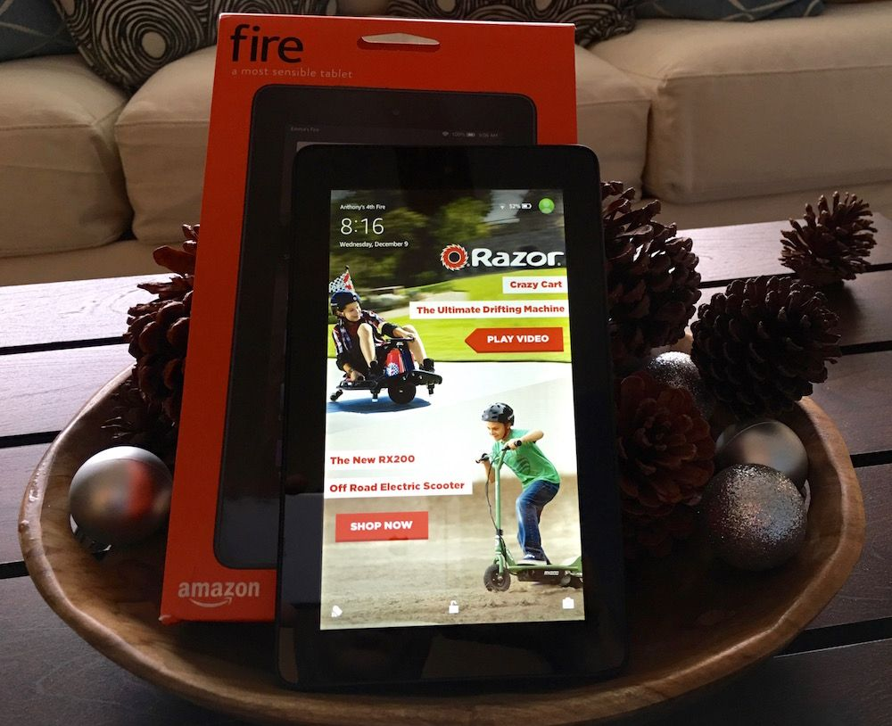 Amazons 50 fire tablet is the last minute gift theyll