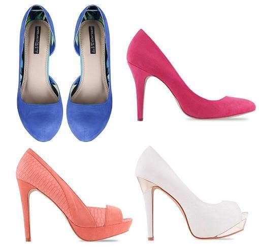 verano tacon 2014 de blanco zapatos primavera HIqvw