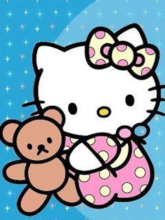 Hello Kitty Kittyrulez Mobile 063JPG 240x320 Pixels