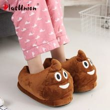 adult cartoon indoor slippers furry fluffy rihanna winter slides fur flip  flops women shoes house with mules platform plush s151 e10a4c0df