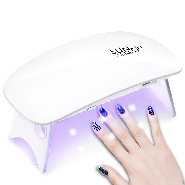 Chimocee Mini Nail Dryer 6w Portable Uv Led Nail Lamp With Usb Cable Mouse Shape Uv Led Led Nail Lamp Nail Dryer