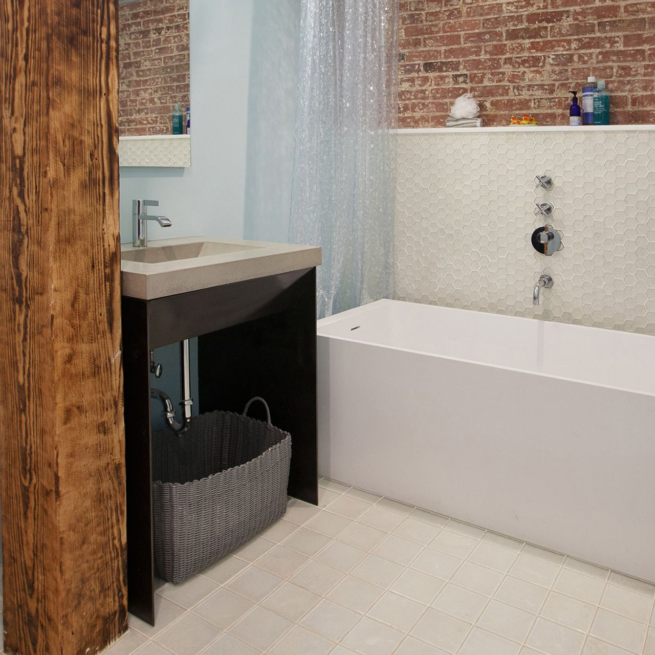 Photos Of ADA Contempo Bathroom Vanity Sink Trueform Concrete