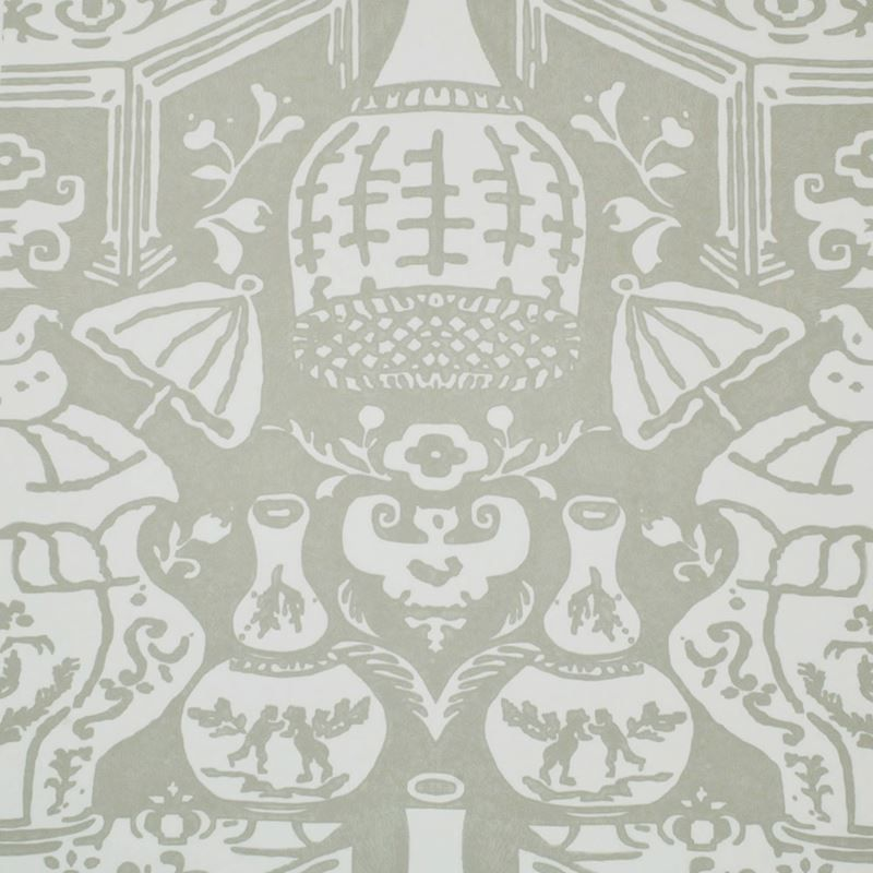 6801 13 The Vase Wallpaper Stone By Clarence House Blue And White Wallpaper Chinoiserie Wallpaper Clarence House Clarence house wallpaper samples