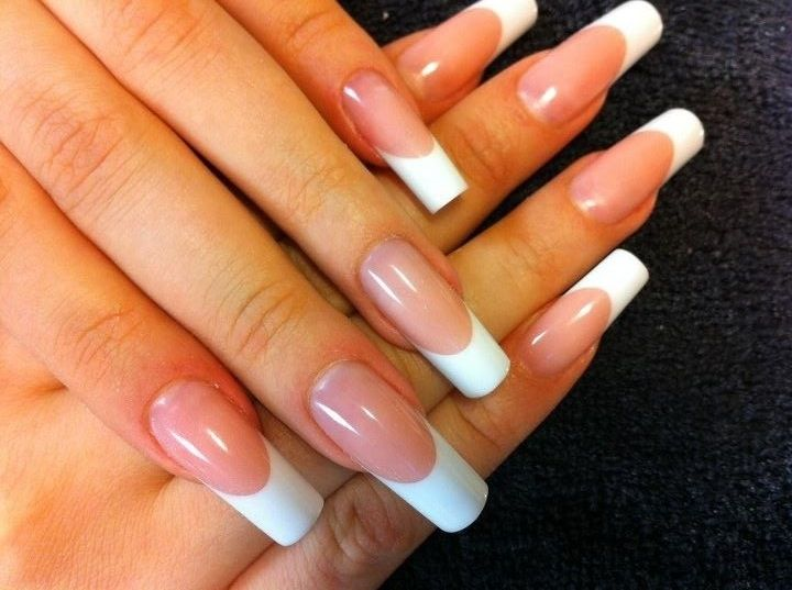 Long French nails   3. Double Team + Dynamicpunch Amazing Fantastic ...